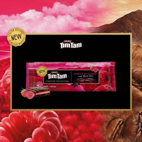 My Berries partners with Arnott's to make limited edition Tim Tam