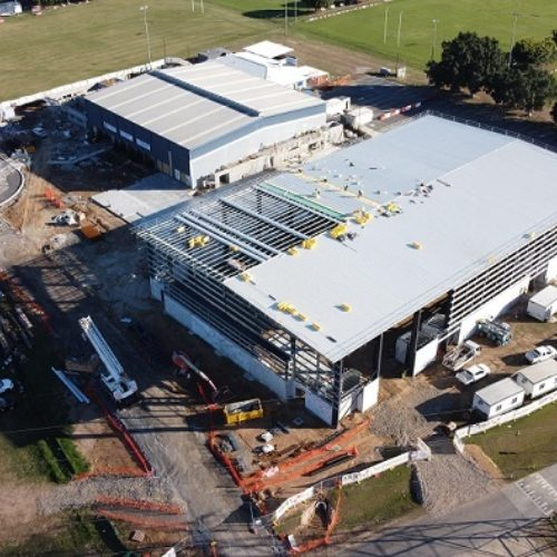 New Indoor Sports Centre almost ready to go